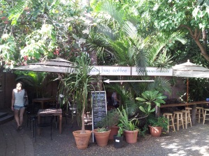 Great place to relax in Paia...Paia Bay Coffee