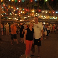 Lahaina Banyan Tree with Christmas Lights