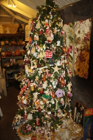 Christmas Tree in Makawao Town