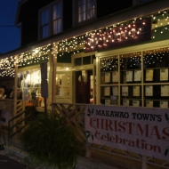 Makawao Town at Christmas