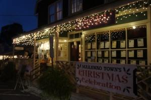 Makawao Town at Christmas
