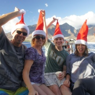 Family Christmas Fun on Maui