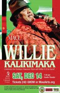 Willie K Christmas Concert