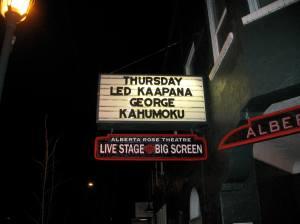 George Kahumoku Jr. and Led Kaapana in Portland